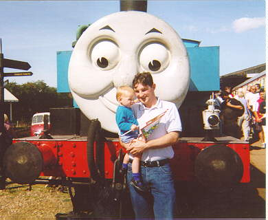 Mick, Ben and Thomas the Tank Engine